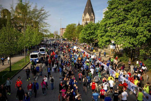 33. Haspa Marathon Hamburg 2018, Halbmarathon
