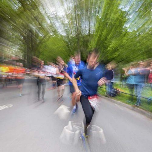 33. Haspa Marathon Hamburg 2018, 29.04.2018, Harvestehuder Weg, Alster,