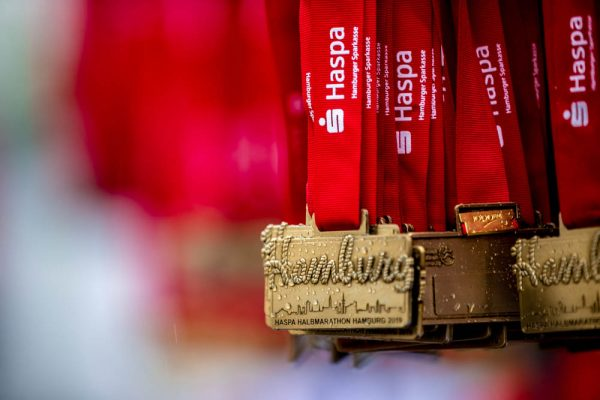 34. Haspa Marathon Hamburg 2019, Medaille Halbmarathon