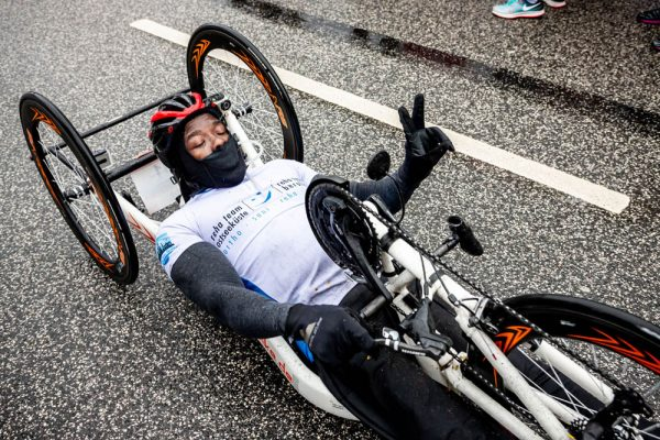34. Haspa Marathon Hamburg 2019, Handbiker
