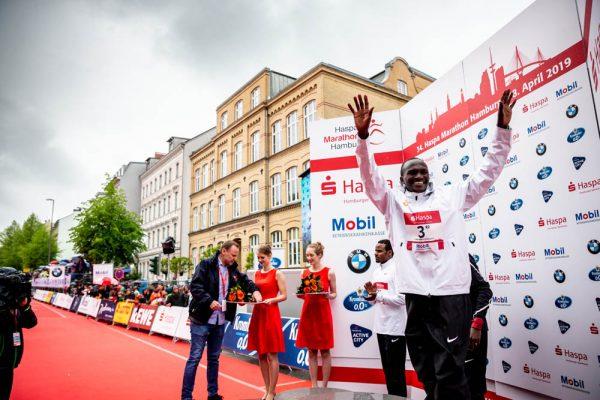 34. Haspa Marathon Hamburg 2019, Siegerehrung