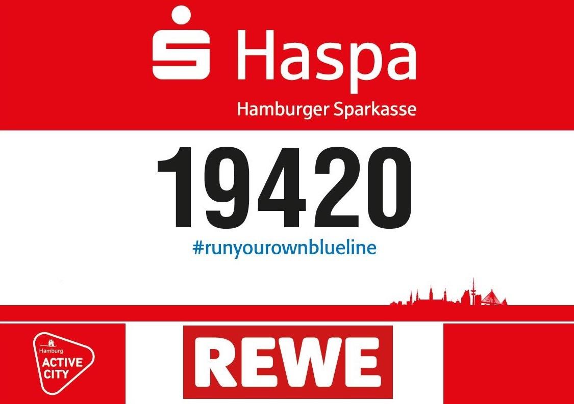 #Runyourownblueline am Sonntag, 19. April