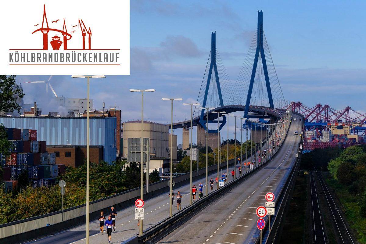 Köhlbrandbrückenlauf 2021: Anmeldung ist geöffnet!